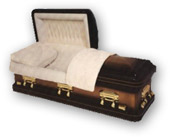Solid Bronze and Copper Caskets